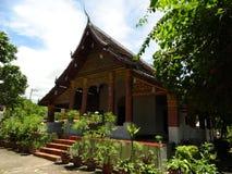 Βουδιστικό μοναστήρι σε Luang Prabang, Λάος Στοκ φωτογραφίες με δικαίωμα ελεύθερης χρήσης