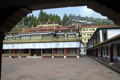 βουδιστικό μοναστήρι Στοκ Φωτογραφίες