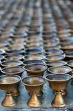 βουδιστικό πετρέλαιο λαμπτήρων στοκ εικόνα