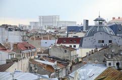 Βουκουρέστι - εναέρια όψη Στοκ εικόνες με δικαίωμα ελεύθερης χρήσης