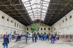 Βουκουρέστι, Ρουμανίας - 15 Νοεμβρίου: Σταθμός Filaret - ο πρώτος Στοκ εικόνα με δικαίωμα ελεύθερης χρήσης