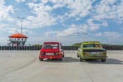 Βουκουρέστι, Ρουμανία - 11 Ιουλίου 2015: Grand Prix 2015 Retromobil Στοκ Φωτογραφία