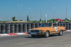 Βουκουρέστι, Ρουμανία - 11 Ιουλίου 2015: Grand Prix 2015 Retromobil Στοκ φωτογραφίες με δικαίωμα ελεύθερης χρήσης