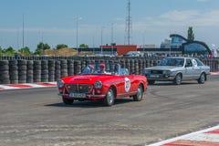 Βουκουρέστι, Ρουμανία - 11 Ιουλίου 2015: Grand Prix 2015 Retromobil Στοκ Εικόνες