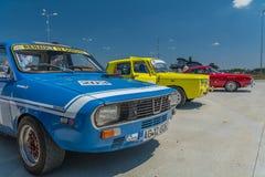 Βουκουρέστι, Ρουμανία - 11 Ιουλίου 2015: Grand Prix 2015 Retromobil Στοκ φωτογραφία με δικαίωμα ελεύθερης χρήσης