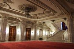 Βουκουρέστι, Ρουμανία - 5 Μαΐου 2014: Εσωτερικό του παλατιού Parliame Στοκ φωτογραφία με δικαίωμα ελεύθερης χρήσης