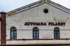 Βουκουρέστι Ρουμανία - 26 Οκτωβρίου 2015: Σταθμός Filaret Στοκ Εικόνα