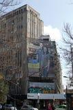 ΒΟΥΚΟΥΡΕΣΤΙ - 17 ΜΑΡΤΊΟΥ: Κινηματογραφική αίθουσα Patria που βρίσκεται στη λεωφόρο Magheru στη φωτογραφία του Βουκουρεστι'ου που  Στοκ Εικόνα