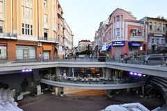 Βουλγαρία, Plovdiv, Towntown Στοκ φωτογραφίες με δικαίωμα ελεύθερης χρήσης