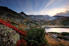 Βουλγαρική λίμνη στο βουνό rila Στοκ Εικόνα