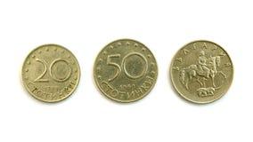 Βουλγαρικό νόμισμα Στοκ Φωτογραφία