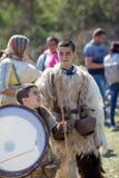 Βουλγαρικό φεστιβάλ Varvara λαογραφίας και μεταμφιέσεων στοκ εικόνες