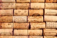 βουλώνει το κρασί Στοκ εικόνα με δικαίωμα ελεύθερης χρήσης