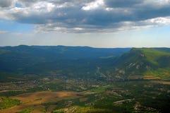 Βουνά ανατολής στοκ φωτογραφίες