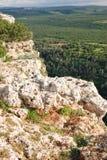 Βουνά ανώτερου Galilee, Ισραήλ Στοκ φωτογραφία με δικαίωμα ελεύθερης χρήσης