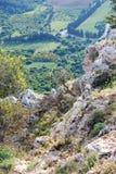 Βουνά ανώτερου Galilee, Ισραήλ Στοκ φωτογραφίες με δικαίωμα ελεύθερης χρήσης