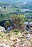 Βουνά ανώτερου Galilee, Ισραήλ Στοκ Φωτογραφίες