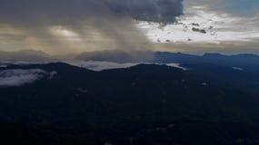 Βουνά από τον υψηλό Στοκ Φωτογραφίες