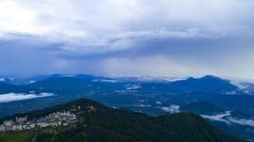 Βουνά από τον υψηλό Στοκ Εικόνα