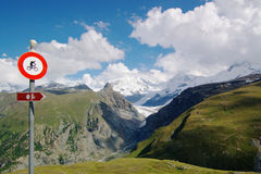 βουνά αριθ. ποδηλάτων Στοκ εικόνες με δικαίωμα ελεύθερης χρήσης
