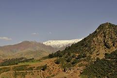 Βουνά ατλάντων στην άνοιξη στοκ φωτογραφία με δικαίωμα ελεύθερης χρήσης