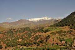 Βουνά ατλάντων στοκ φωτογραφία