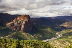 Βουνά ατλάντων, Μαρόκο, Αφρική Στοκ εικόνες με δικαίωμα ελεύθερης χρήσης
