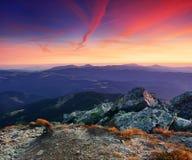 βουνά αυγής στοκ φωτογραφίες με δικαίωμα ελεύθερης χρήσης