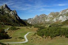 βουνά βόρεια Ισπανία Στοκ εικόνα με δικαίωμα ελεύθερης χρήσης