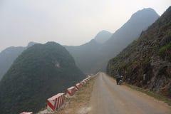 Βουνά βόρειο Βιετνάμ εκταρίου Giang Στοκ φωτογραφία με δικαίωμα ελεύθερης χρήσης