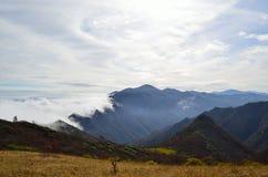 Βουνά γιαγιάδων Zhong Στοκ Φωτογραφίες