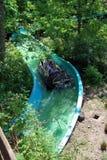 Βουνά γουργούρισμα-περιπέτειας Plopsa ardenne Στοκ φωτογραφία με δικαίωμα ελεύθερης χρήσης