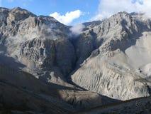 Βουνά γύρω από το υψηλό στρατόπεδο Thorong, Νεπάλ Στοκ Εικόνες