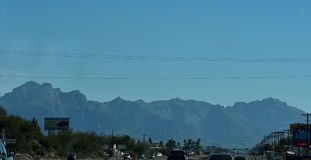 Βουνά δεισιδαιμονίας σε Mesa, Αριζόνα Στοκ φωτογραφίες με δικαίωμα ελεύθερης χρήσης
