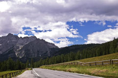 Βουνά δολομιτών, Ιταλία στοκ φωτογραφίες με δικαίωμα ελεύθερης χρήσης