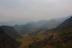 Βουνά εκταρίου Giang, βόρειο Βιετνάμ Στοκ φωτογραφία με δικαίωμα ελεύθερης χρήσης