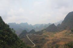 Βουνά εκταρίου Giang, βόρειο Βιετνάμ Στοκ εικόνα με δικαίωμα ελεύθερης χρήσης