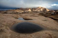 Βουνά ερήμων Στοκ Φωτογραφίες