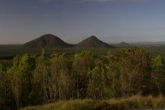 Βουνά θερμοκηπίων, ακτή ηλιοφάνειας, Queensland Αυστραλία Στοκ φωτογραφία με δικαίωμα ελεύθερης χρήσης