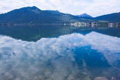 Βουνά λιμνών και ορών Tegernsee Στοκ φωτογραφίες με δικαίωμα ελεύθερης χρήσης