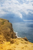 Βουνά και η θάλασσα Στοκ Εικόνα