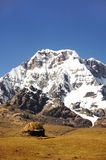 βουνά καλυβών στοκ εικόνες