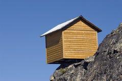 βουνά καμπινών Στοκ Φωτογραφία
