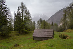 βουνά καμπινών Στοκ εικόνες με δικαίωμα ελεύθερης χρήσης