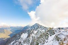 Βουνά Καύκασου στο Sochi στοκ φωτογραφία με δικαίωμα ελεύθερης χρήσης