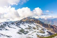 Βουνά Καύκασου στο Sochi στοκ εικόνα με δικαίωμα ελεύθερης χρήσης