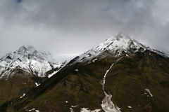 βουνά Καύκασου Στοκ Εικόνες