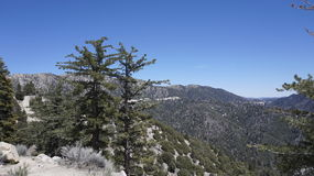 Βουνά Καλιφόρνιας Στοκ Φωτογραφία
