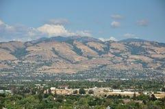 Βουνά Καλιφόρνια του Cruz Santa Στοκ εικόνα με δικαίωμα ελεύθερης χρήσης