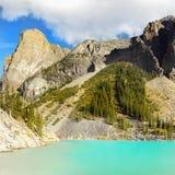 Βουνά κοιλάδων λιμνών Moraine, εθνικό πάρκο Banff, Καναδάς Στοκ φωτογραφίες με δικαίωμα ελεύθερης χρήσης